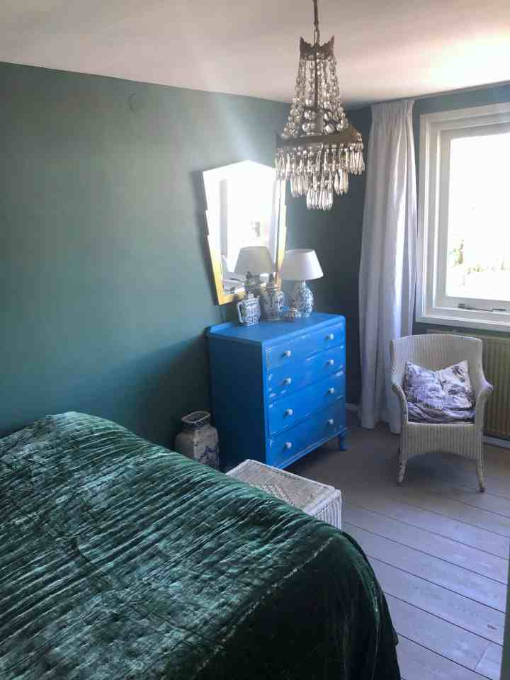 slaapkamer make-over