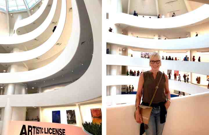 collage-New York-Guggenheim