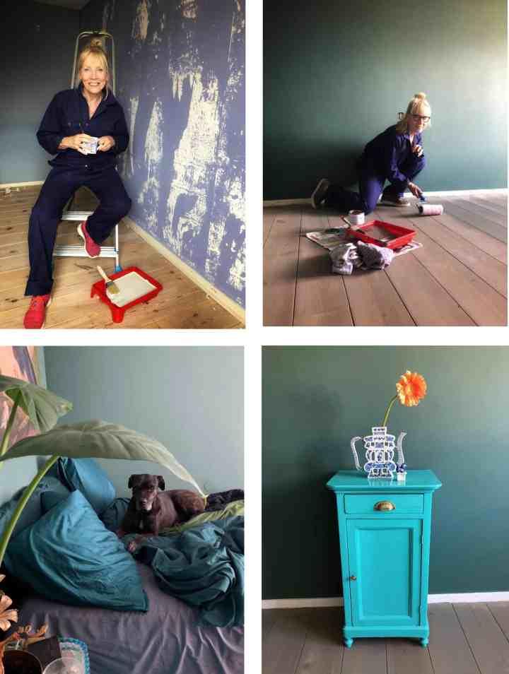 leukste verfklussen-makeover slaapkamer