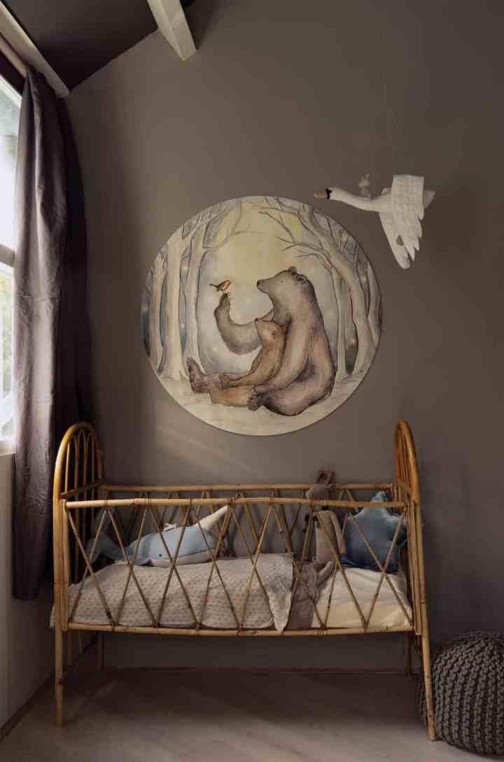behang circel babykamers
