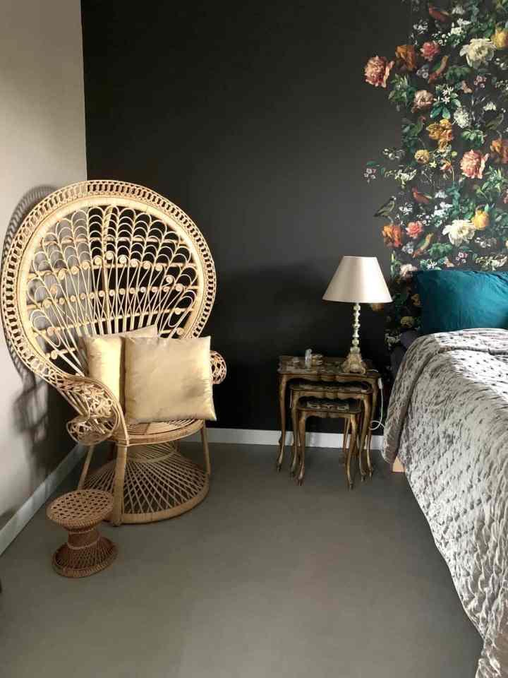 rotan peacock chair