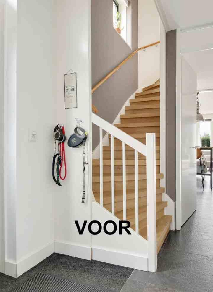 nieuwe plannen voor het trappenhuis
