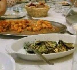 dinner at Rosies