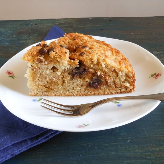 Crunchy Coffee Cake