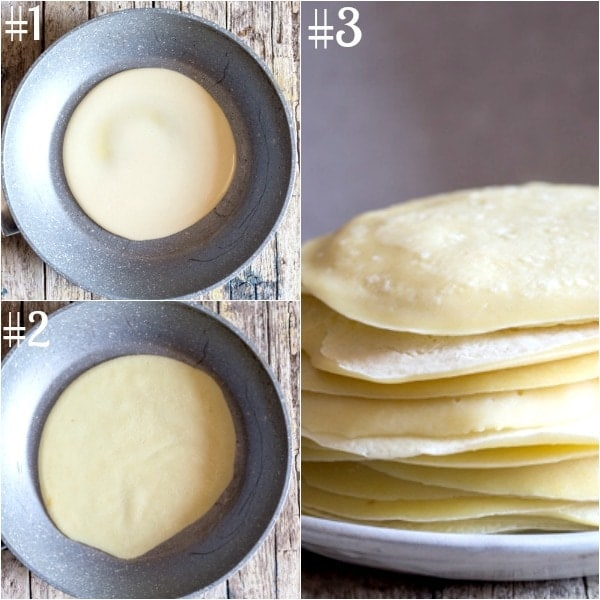 crepe cannelloni how to make in a pan and made