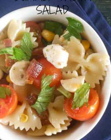 summer pasta salad/anitalianinmykitchen.com