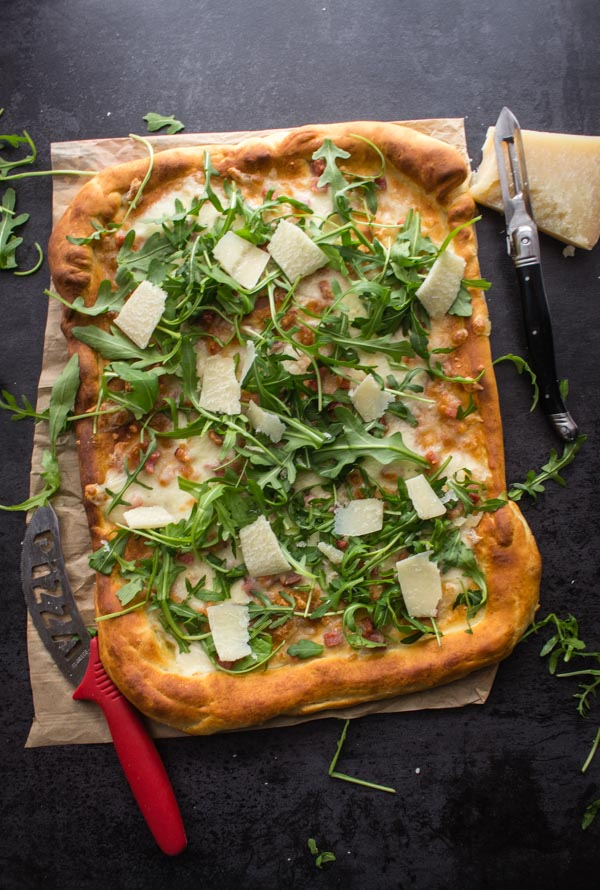 Italian Pizza Bianca Best Easy White Pizza