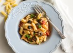 Italian Tuna Olive Rigatoni, the perfect anytime fast and easy Italian pasta recipe. Tasty, delicious and healthy. Weekday pasta dish for family or guests.|anitalianinmykitchen.com