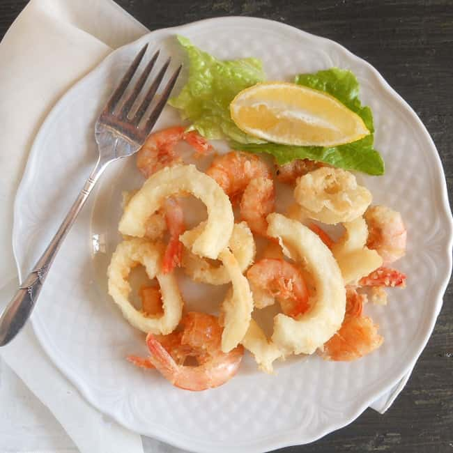 seafood fry / An Italian in my kitchen