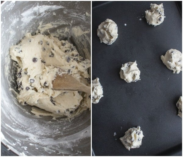 Easy Chocolate Chip Whipped Shortbread