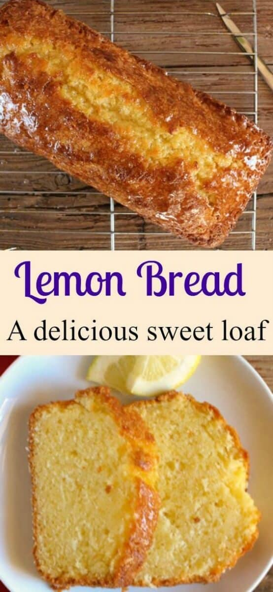 A tangy delicious sweet Easy Lemon Bread Recipe. A moist sweet homemade loaf with a simple glaze,  perfect for every occasion. A must try! #lemon bread #sweet loaf #lemon #dessert #cake