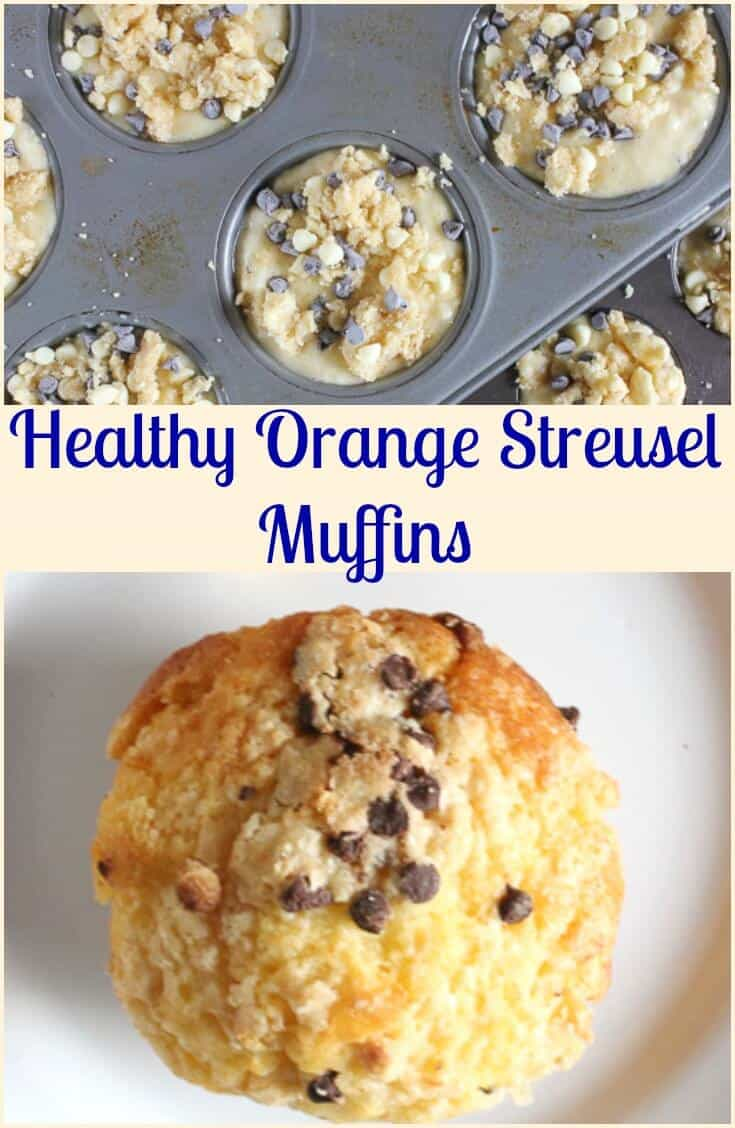 Orange Streusel Muffins, a yummy flavorful breakfast, snack or anytime muffin, a perfect combination of orange and chocolate, a must try!