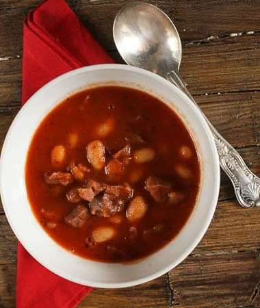 prosciutto and bean soup/anitalianinmykitchen.com