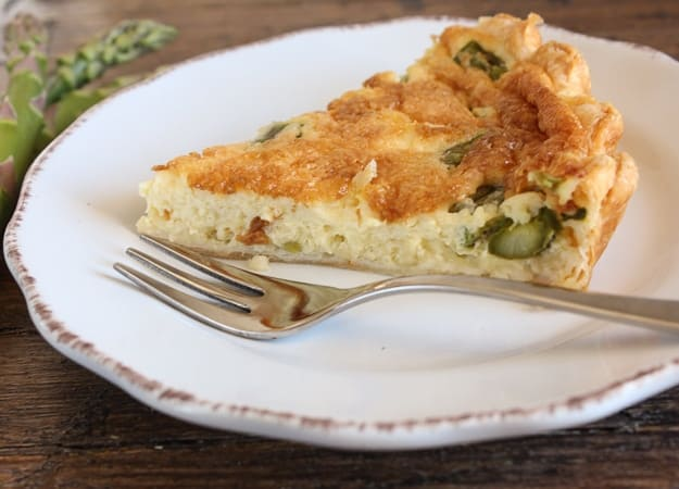 asparagus quiche/anitalianinmykitchen.com