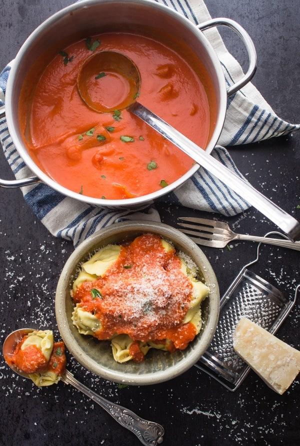 easy tomato cream sauce an easy delicious creamy tomato sauce perfect