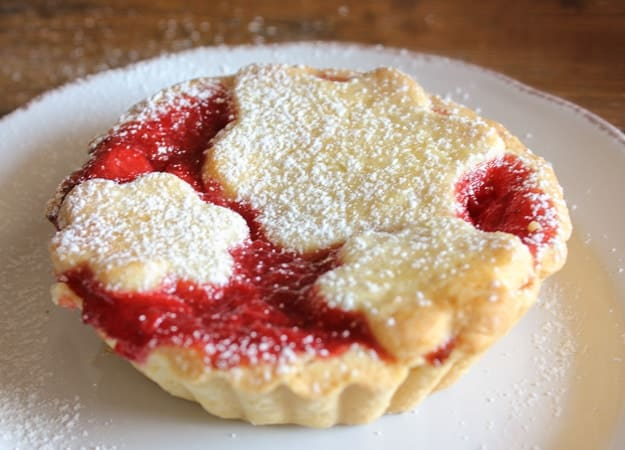 strawberry filled soft Italian cookies