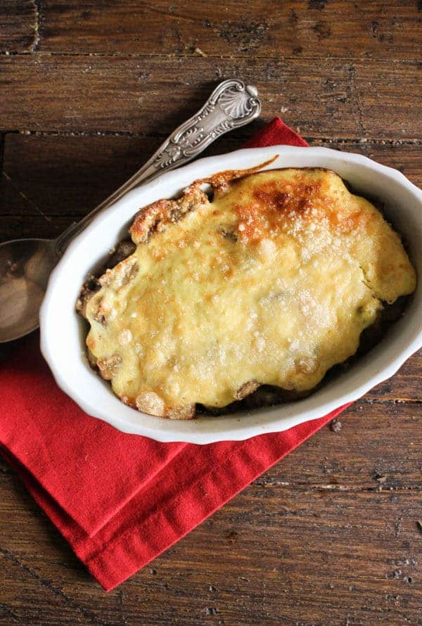 Italian Eggplant Ricotta Bake the perfect summertime baked dish, a delicious vegetarian casserole. Easy, yummy and gluten free.