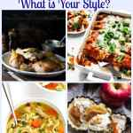 Favorite Food Bloggers Photography - What is Your Style? Four food bloggers who have given me inspiration and a love of food photography.