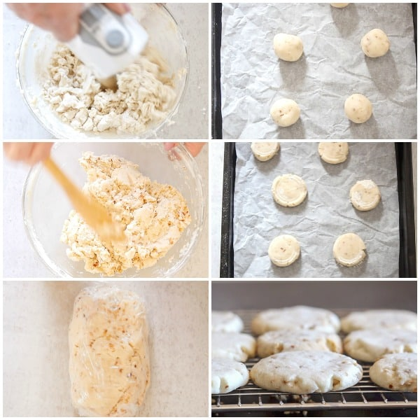 how to make chocolate hazelnut shortbread cookies photos