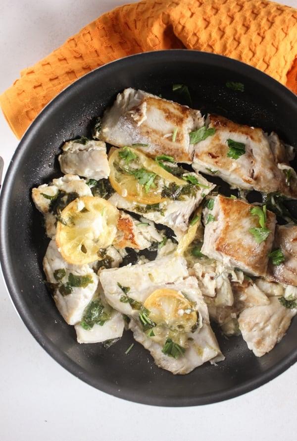 Simple Italian Pan Fried Fish