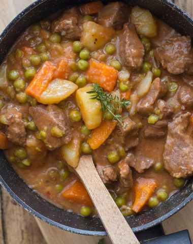 Chunky Thick Italian Beef Stew, an easy delicious healthy beef stew, Italian seasonings in a thick sauce, make it one of the best, Enjoy!