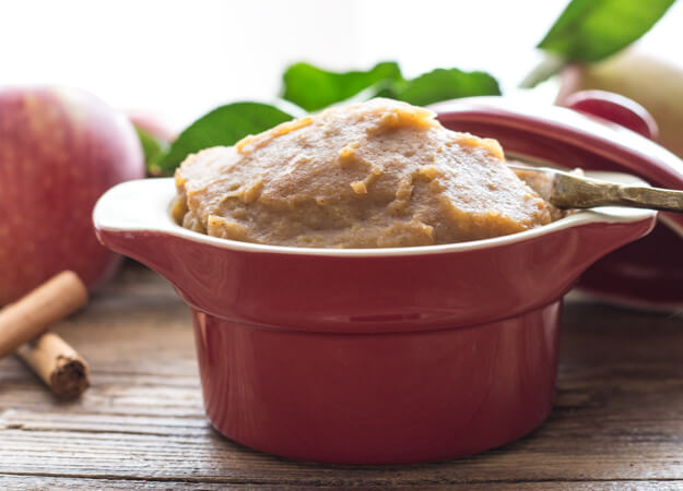 Easy Stovetop Apple Butter, a fast and easy homemade recipe, made with the perfect combination of spices, makes an amazing dip or spread.