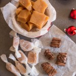 Creamy Old Fashioned Caramel Candies, an easy homemade Caramel Candy Recipe. Chocolate dipped or plain they are a treat.