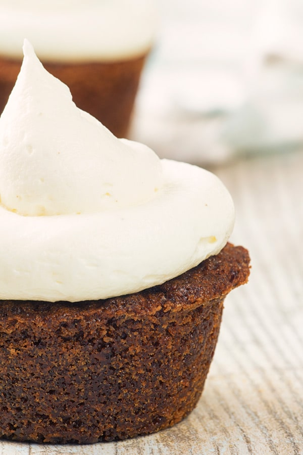 Easy Carrot Cake Muffins with a Cream Cheese Frosting - An Italian
