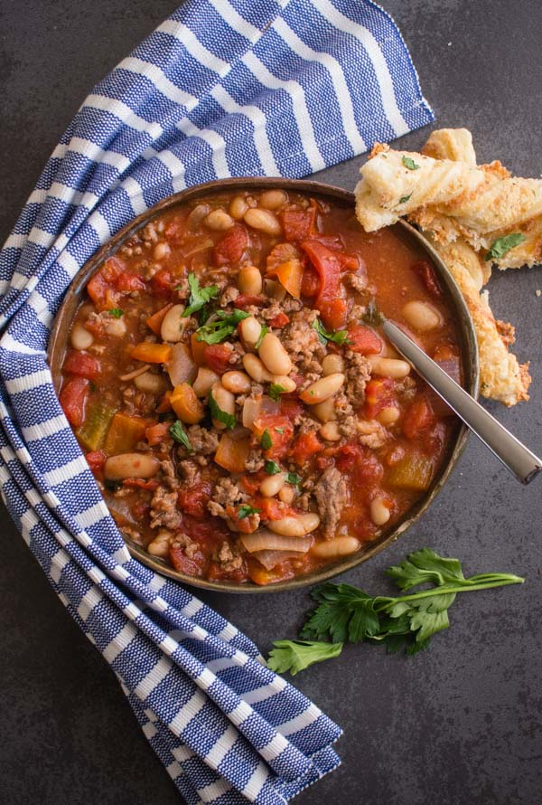 Easy Homemade One Pot Chili