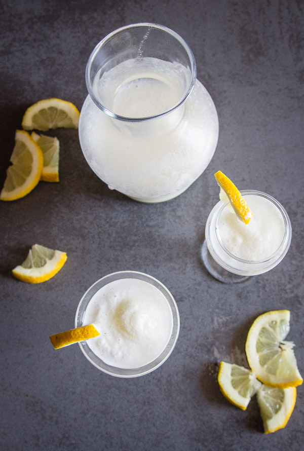 Italian Lemon Sorbet Drink