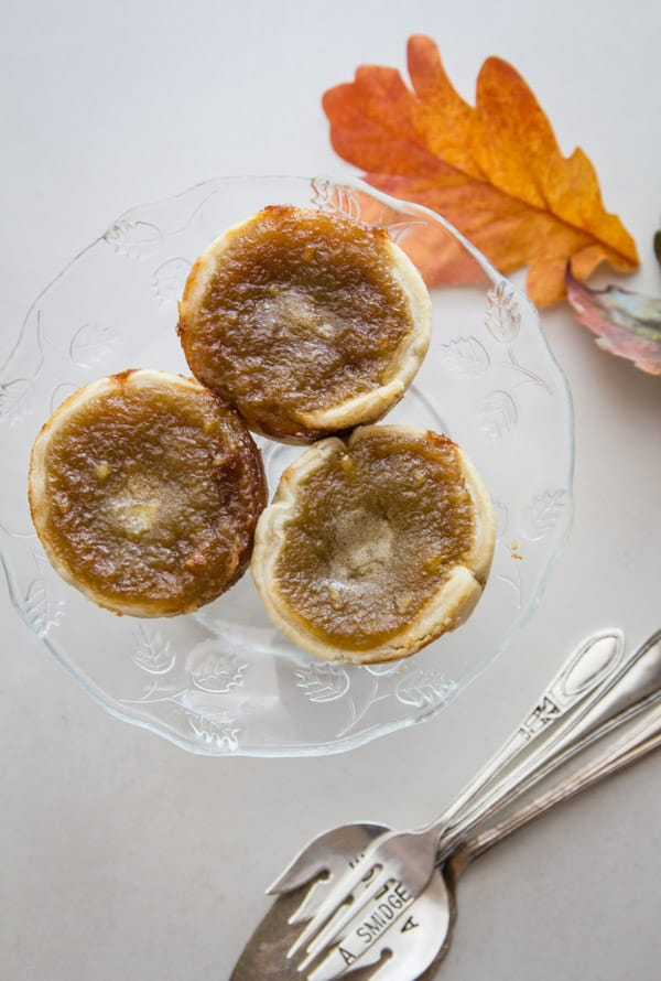 Old Fashioned Butter Tarts, the best Homemade Canadian Recipe, with the perfect sweet runny filling, dessert or snack idea.