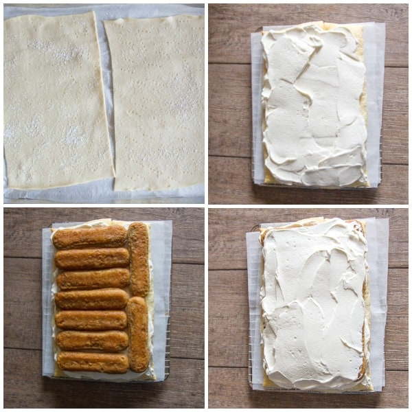 how to make photos puff pastry tiramisu