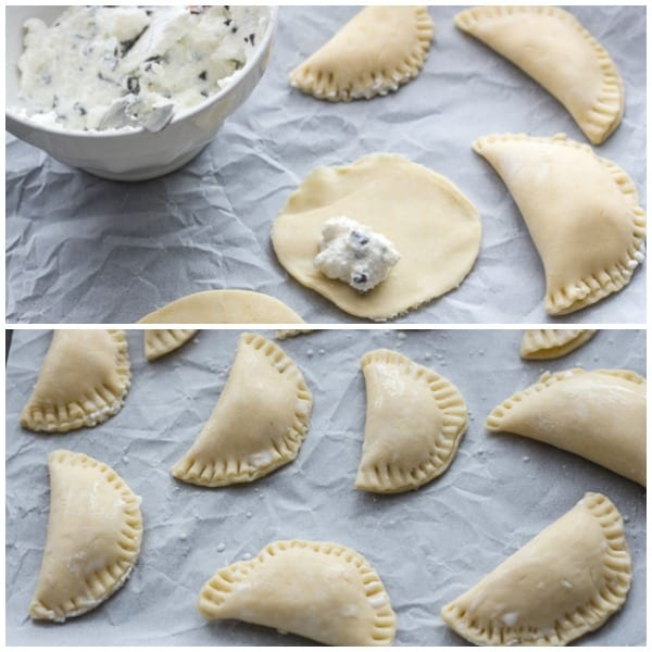 sweet ravioli dough and filling