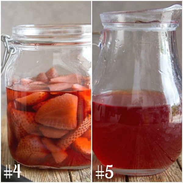 strawberry liqueur how to make in a jar and sieved