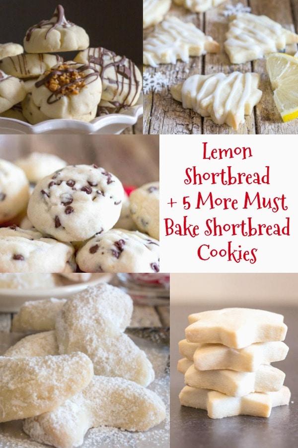 lemon shortbread