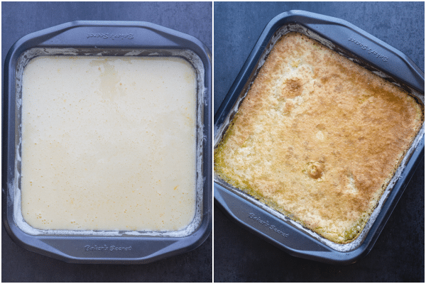 lemon squares how to make ready to bake and baked