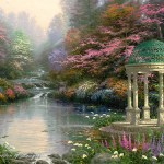 Thomas Kinkade, A Beauty which Never Was on Land or Sea