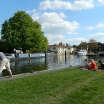 A River Walk on the Thames Path from Sandford Lock to Folly Bridge, via Iffley Lock