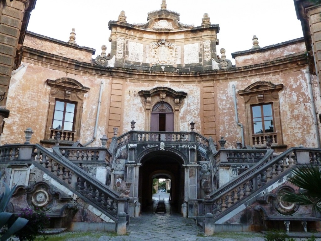 Formal Entrance to Villa Palagonia