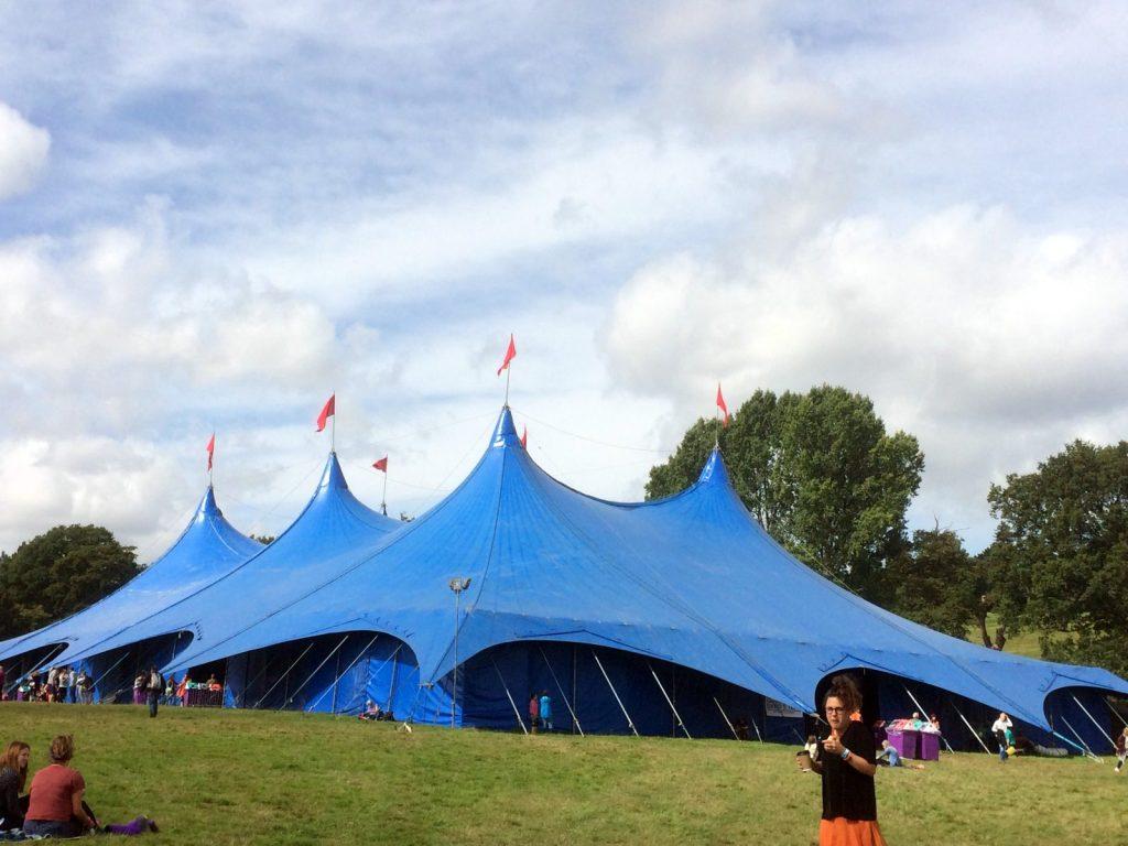 David's Tent, Sussex, 2014