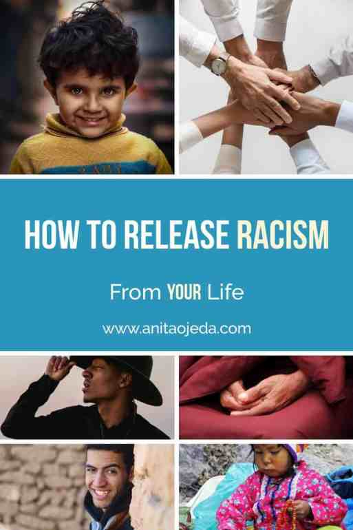 Four steps (I won't call them simple) for releasing #racism from your life. #socialjustice