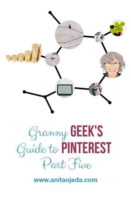 can't promise the moon, but I can prove that Pinterest has provided a steady growth of visitors to my blog since I started manual pinning! #Pinterest #blogger #GrannyGeek