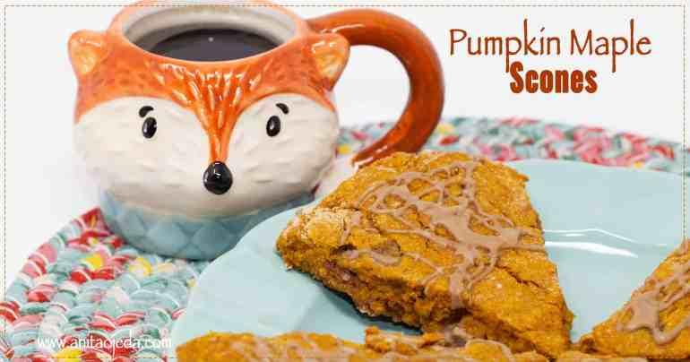 healthy pumpkin scone
