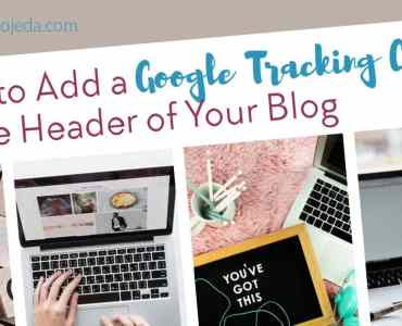 Ever wondered how to add a google tracking code to the header of your blog? Or a meta tag? You CAN conquer this mountain (and I'll show you how). #metatag #header #blogging #beginner #googleanalytics #googlesearchconsole #beginningblogger