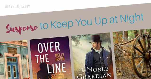 Grab one of these thrilling suspense books for a late-night summer read! One takes place in Regency England and the other in modern-day Texas. #suspense #novel #amreading #bookreview