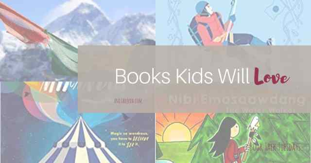 Looking for good books to gift to your kids or grandkids? Check out this line-up for fun and inspiring reads. Teachers and parents will appreciate them, too. #amreading #biography #magicalrealism #netgalley