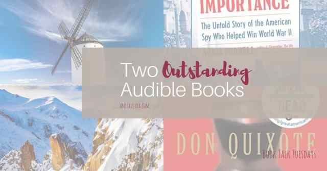 Looking for something to listen to during this time of social distancing? Check out these Audible recordings that I loved. Fifty-four hours of listening enjoyment. That should get you through at least a week of shelter in place! #Audible #books #bookreview #shelterinplace #listening #amreading