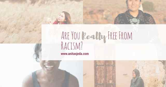 Are we born racist? I don't think so. So what happens? How do people become racist without even realizing it? #racism #eracism #prejudice #selfcare #Christian