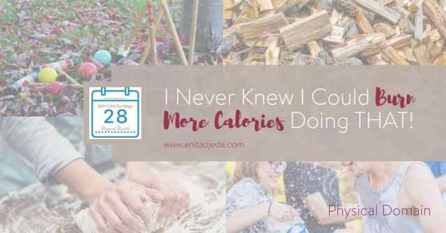 Here's your go-to list of ideas for fun ways to burn more calories this summer. I bet many of them will surprise you! Do you have anything to add to the list? #burnmorecalories #physicalhealth #selfcare #goals #SelfCareSunday