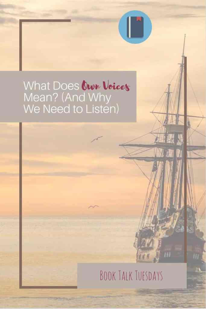 What is an own voices author? Someone who lives on the margin because of their race or ethnicity who writes about what it's really like. Why read 'about' life as a minority from a white man when you can read about life as a minority from a Native American, Black, or Vietnamese person? #ownvoices #teacher #amreading